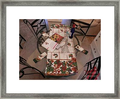 Framed Print featuring the digital art Gather 'round  by Angelia Hodges Clay