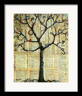 Pages Of Life Framed Prints