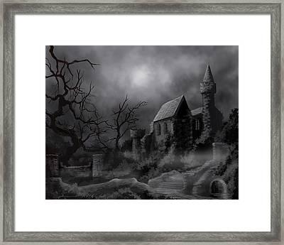 Gathluma's Castle Framed Print by James Christopher Hill