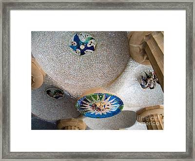 Gaudi Detail Framed Print by Tim Holt