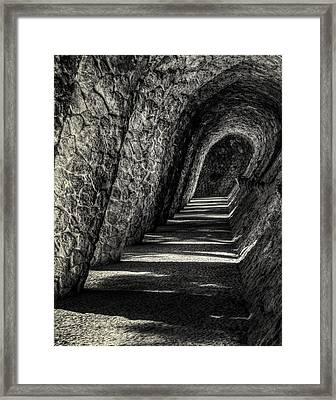 Gaudi Wave Framed Print