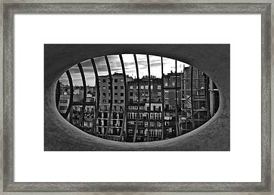 Gaudi's View Framed Print by Robert  FERD Frank