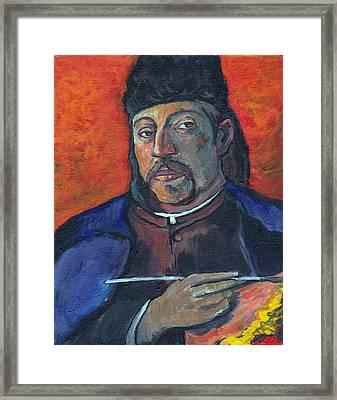 Gauguin Framed Print by Tom Roderick