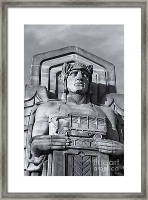 Guardian Of Traffic II Framed Print