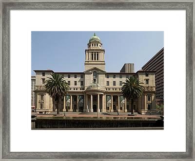 Gauteng Provincial Legislature Framed Print
