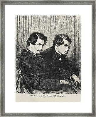 Gavarni, Hippolyte-guillaume-sulpice Framed Print by Everett