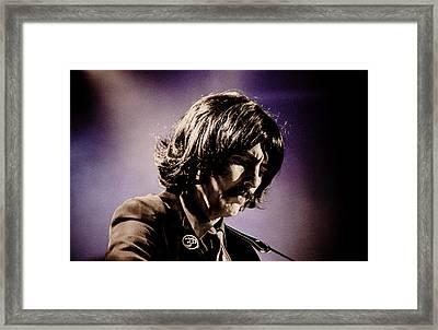Gavin Leslie Pring As George Harrison Framed Print