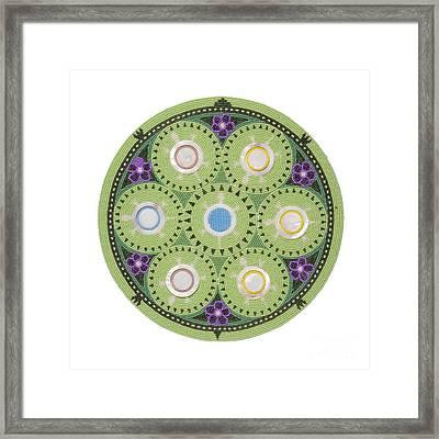 Gavino's Cradleboard Beadwork Framed Print