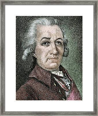 Gavrila Romanovich Derzhavin (kazan Framed Print