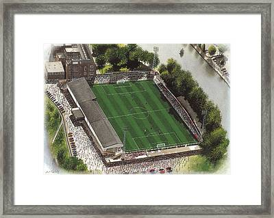 Gay Meadow - Shrewsbury Town Framed Print