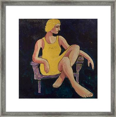 Gaye Framed Print by Clarence Major