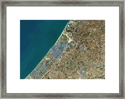 Gaza City Framed Print by Planetobserver