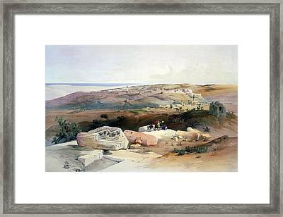 Gaza Framed Print