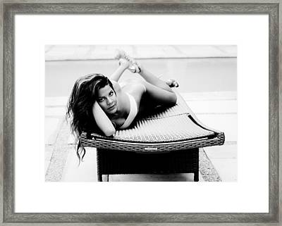 Gaze Framed Print by Julian Sula