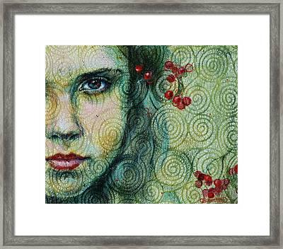 Gaze Framed Print by Oksana Zhelisko