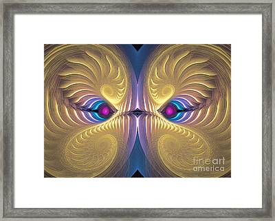 Gaze - Surrealism Framed Print