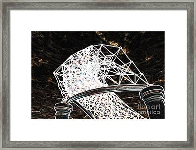 Framed Print featuring the photograph Gazebo 3 by Minnie Lippiatt