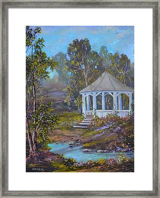 Gazebo And A Dream Framed Print