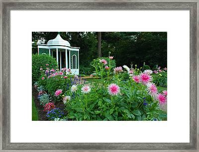 Gazebo Bloom Framed Print