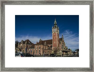Gdansk Main Station Framed Print by Adam Budziarek