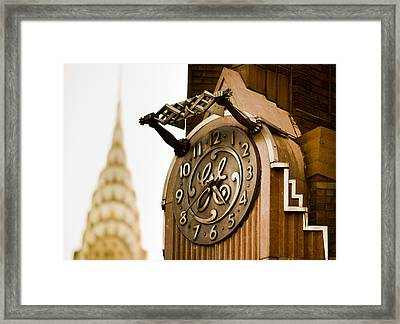 General Electric Building 2 Framed Print