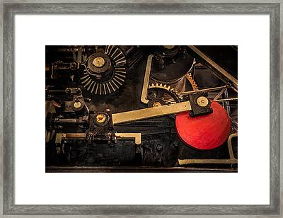 Gear Box Framed Print by Paul Freidlund