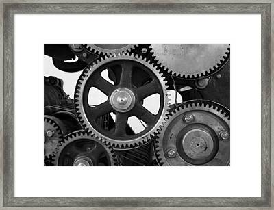 Gear Drive Framed Print