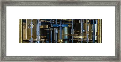 Gear Head Framed Print