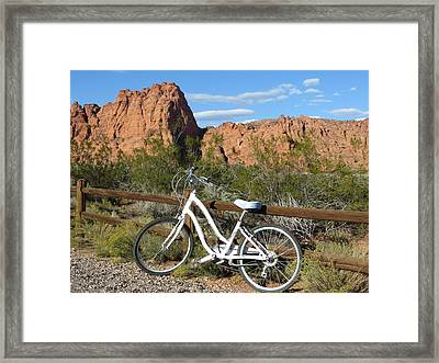 Geared Up Framed Print by Jean Marie Maggi