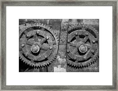 Gearing Up 2 Framed Print by Benanne Stiens