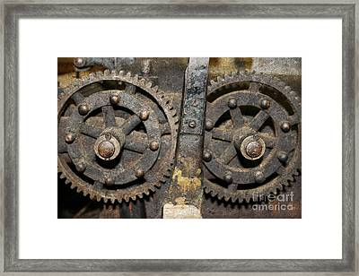 Gearing Up Framed Print by Benanne Stiens