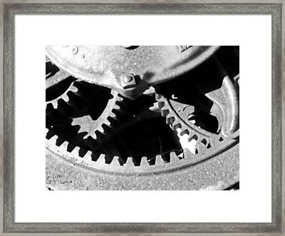 Gears Light Framed Print