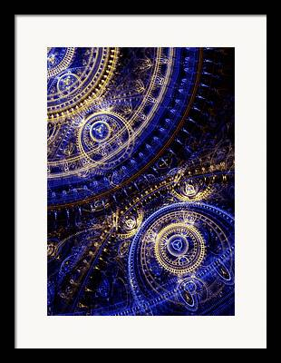 Cogwheel Framed Prints