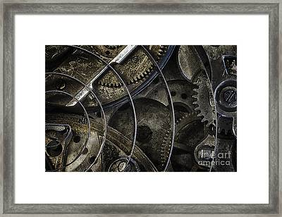 Framed Print featuring the photograph Gears by Vicki DeVico