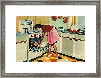 Gec 1960 1960s Uk Housewives Housewife Framed Print by The Advertising Archives