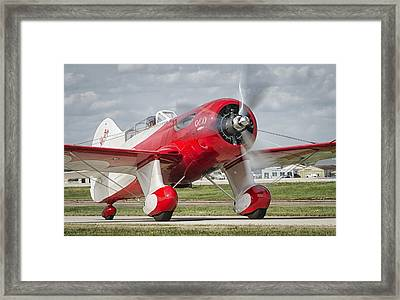Gee Bee Taxi Framed Print