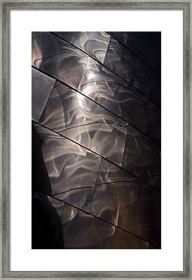 Gehry Magic Framed Print by Rona Black