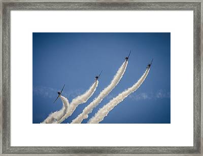 Framed Print featuring the photograph Geico Sky Typers 2 by Bradley Clay
