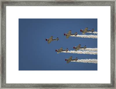 Framed Print featuring the photograph Geico Sky Typers  by Bradley Clay