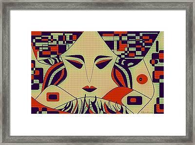 Geisha Framed Print by Chandrima Dhar