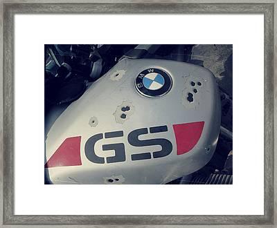 Gelande Sport Fuel Tank Framed Print by Patricia Januszkiewicz