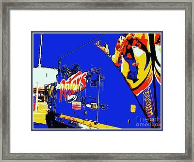 Gelati In The Fremantle Wharf Framed Print by Roberto Gagliardi