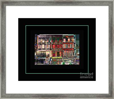 Gem Collection - New York In 1975 - Print Or Card Framed Print by Miriam Danar