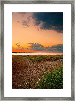 Gem On The Bay Framed Print by Lourry Legarde