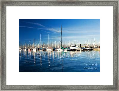 Gem Pier Of Williamstown Framed Print by Yew Kwang