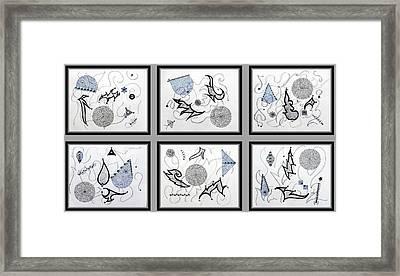 Gem-tle Framed Print by Sumit Mehndiratta