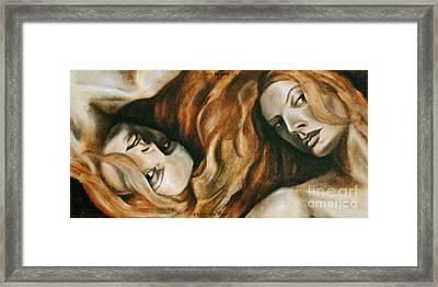 Gemini Framed Print by C C Miranda