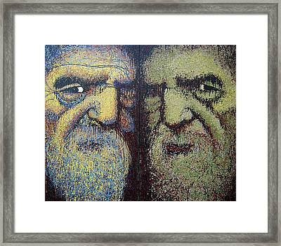 Gemini Framed Print by Kate Tesch