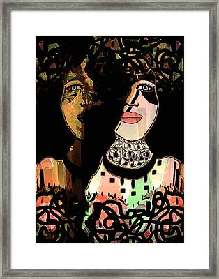 Gemini Framed Print by Natalie Holland
