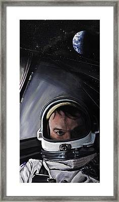 Gemini X- Michael Collins Framed Print